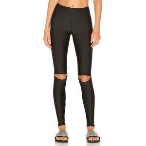 Stone Fox Sweat LYSA Split Knee Athletic Leggings